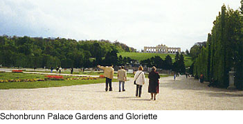 The Schonbrunn Gloriette