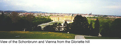 View from the Gloriette hill